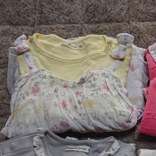 クーラクール(coeur a coeur)のクーラクール   長袖2枚  90(Tシャツ/カットソー)