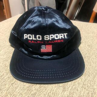 POLO RALPH LAUREN - 激レア 廃盤 POLO SPORT ポロスポーツ ラルフローレン キャップ 帽子
