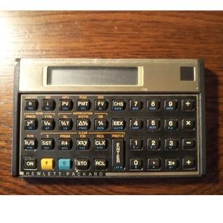 ヒューレットパッカード(HP)のHP 12C(オフィス用品一般)