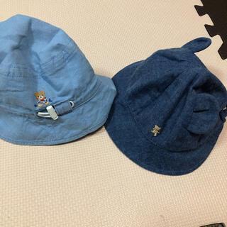 familiar - ミキハウス ベビー帽子 ファミリア セット 帽子 44 45 46 47 48