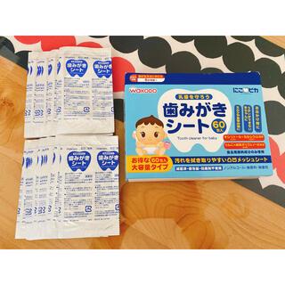 ワコウドウ(和光堂)の歯磨きシート 24枚セット(歯ブラシ/歯みがき用品)