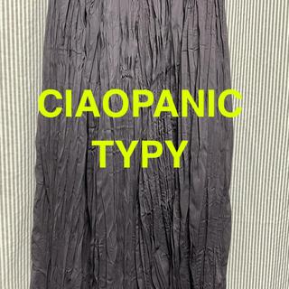 チャオパニックティピー(CIAOPANIC TYPY)のチャオパニックティピー ロングガウチョ グレー(カジュアルパンツ)