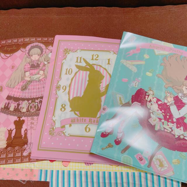 Angelic Pretty(アンジェリックプリティー)のAngelic Pretty ノベルティ クリアファイル エンタメ/ホビーのコレクション(ノベルティグッズ)の商品写真