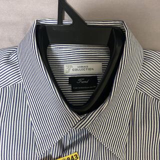 ジャンニヴェルサーチ(Gianni Versace)の【ライター蘭様専用】ヴェルサーチ ストライプシャツ(シャツ)