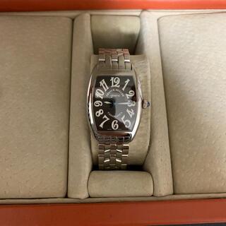 フランクミュラー(FRANCK MULLER)のフランクミュラー⭐️カサブランカ 黒文字盤レディース腕時計 (腕時計)