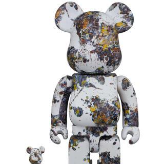 メディコムトイ(MEDICOM TOY)のBE@RBRICK Jackson Pollock 100% & 400%(フィギュア)