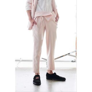 ジョンリンクス(jonnlynx)のjonnlynx silk wool pants black(その他)