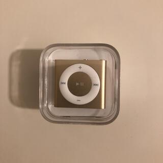 アイポッド(iPod)のiPod シャッフル【新品未使用】(ポータブルプレーヤー)