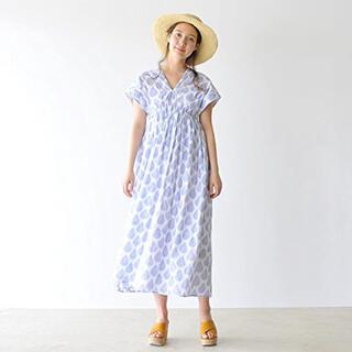 MARIHA マリハ夏の光のドレス 36サイズ(ロングワンピース/マキシワンピース)