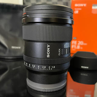 SONY - SEL20F18G SONY ミラーレス フルサイズ レンズ