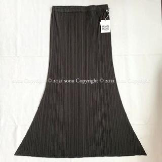 プリーツプリーズイッセイミヤケ(PLEATS PLEASE ISSEY MIYAKE)の新品PLEATS PLEASEプリーツプリーズ フレア スカート 2 イッセイ(ひざ丈スカート)