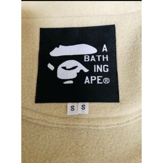 A BATHING APE - A BATHING APE ×POLARTEC フリースジャケット