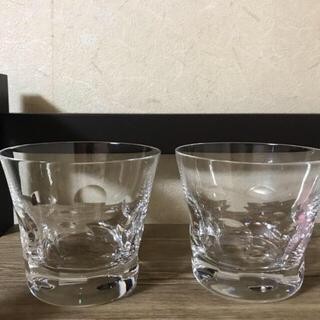 バカラ(Baccarat)のベルーガLサイズ二脚 箱なし(グラス/カップ)
