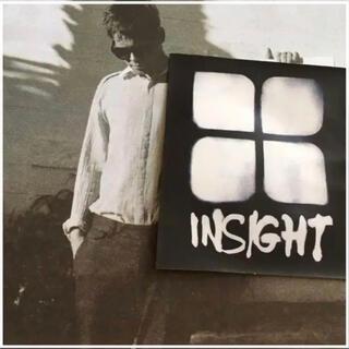インサイト(INSIGHT)のinsight インサイト US限定 デザイン アイコン white ステッカー(その他)