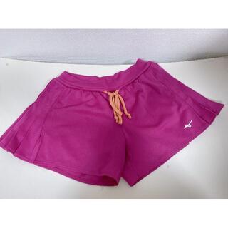 ミズノ(MIZUNO)のミズノMIZUNOレディーススポーツショートパンツテニスランニングピンクS(ショートパンツ)