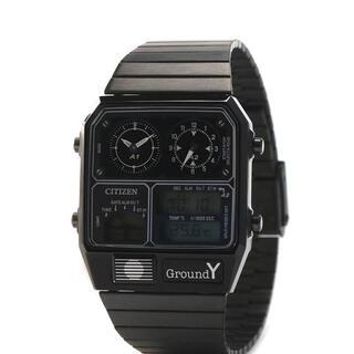 ヨウジヤマモト(Yohji Yamamoto)のGround Y/CITIZEN ANA-DEGI TEMP(腕時計(デジタル))