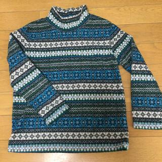 ユニクロ(UNIQLO)のタートルネック フリース 120cm(Tシャツ/カットソー)