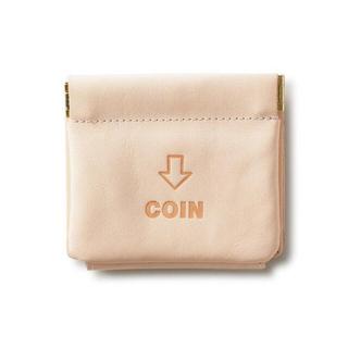 エンダースキーマ(Hender Scheme)の破格です! JOLI 外コインケースの三つ折り財布 ナチュラル(折り財布)