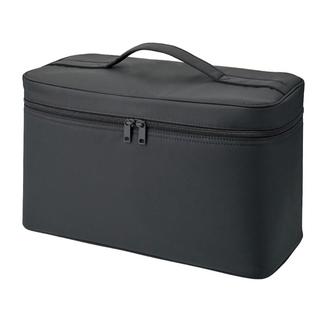 ムジルシリョウヒン(MUJI (無印良品))のナイロンメイクボックス/L 黒/約36×16.5×20.5cm(メイクボックス)