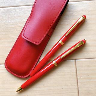 ジバンシィ(GIVENCHY)のGIVENCHY(ジバンシー)ケース付きボールペン&シャープペンセット(ペン/マーカー)