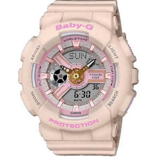 ベビージー(Baby-G)のBABY-G BA-110PKC-4AJR ピカチュウ CASIO カシオ(腕時計(アナログ))