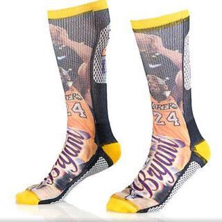 Kobe Bryant 3D プリントメンズソックス!(ソックス)