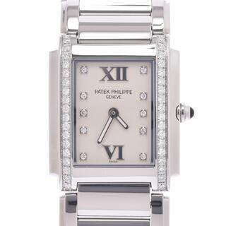 パテックフィリップ(PATEK PHILIPPE)のパテックフィリップ  TWENTY-4 ベゼルダイヤ 10Pダイヤ 腕時計(腕時計)