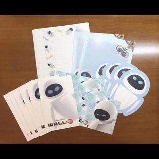 ディズニー(Disney)のディズニー  WALL・E  ウォーリー レターセット 便箋(カード/レター/ラッピング)