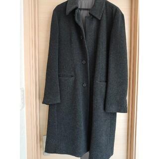 メンズメルローズ コート アウター 冬服 男性 サイズ3 濃いグレー