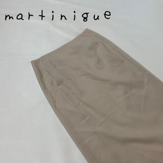 マルティニークルコント(martinique Le Conte)のmartinique マルティニーク スカート ベージュ サイズS メルローズ(ロングスカート)
