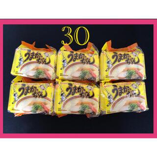ハウスショクヒン(ハウス食品)のハウス食品 うまかっちゃんラーメン 5個入り×6パック 30個 ノーマル味(インスタント食品)