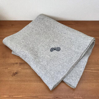 mina perhonen - ミナペルホネン マフラー choucho light gray
