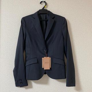 コムサイズム(COMME CA ISM)のコムサイズム テーラードジャケット スーツ ジャケット 黒 新品未使用(テーラードジャケット)