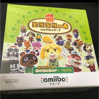 ニンテンドースイッチ(Nintendo Switch)のどうぶつの森 amiiboカード 第1弾 BOX  定価以下!(Box/デッキ/パック)