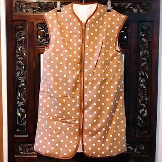 ニシカワ(西川)の西川リビング ドット 水玉 スリーパー ベビー 毛布 ヌックミー 着る布団(ベビー布団)