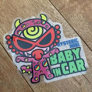 ヒステリックミニ(HYSTERIC MINI)のヒスミニ  baby in car (車内アクセサリ)