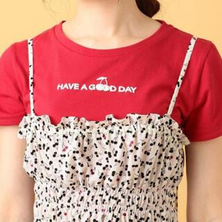 デイシー(deicy)のDEICY デイシー♥︎さくらんぼ♥︎チェリー ロゴTシャツ レッド♥︎(Tシャツ(半袖/袖なし))