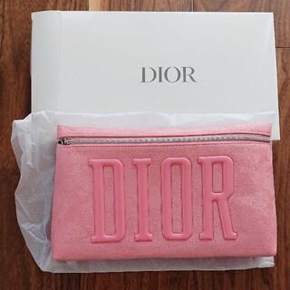 クリスチャンディオール(Christian Dior)のChristian Dior☆ディオール ノベルティ☆ベビーピンクのポーチ(ポーチ)