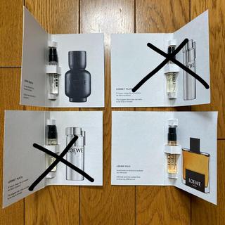 LOEWE - LOEWE 香水 2ml メンズ 試供品 サンプル