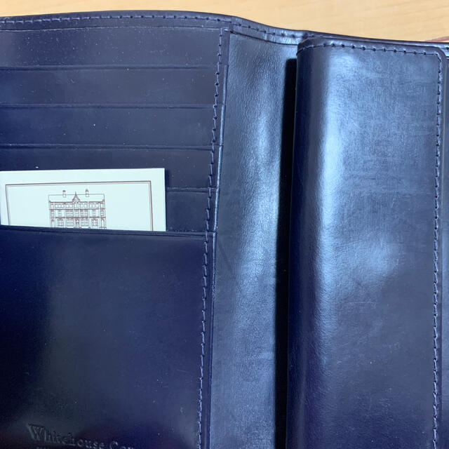 WHITEHOUSE COX(ホワイトハウスコックス)のホワイトハウスコックス 財布 ホリデーライン 2017  美品 メンズのファッション小物(折り財布)の商品写真