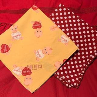 ピンクハウス(PINK HOUSE)のピンクハウススカーフ二枚セット(バンダナ/スカーフ)