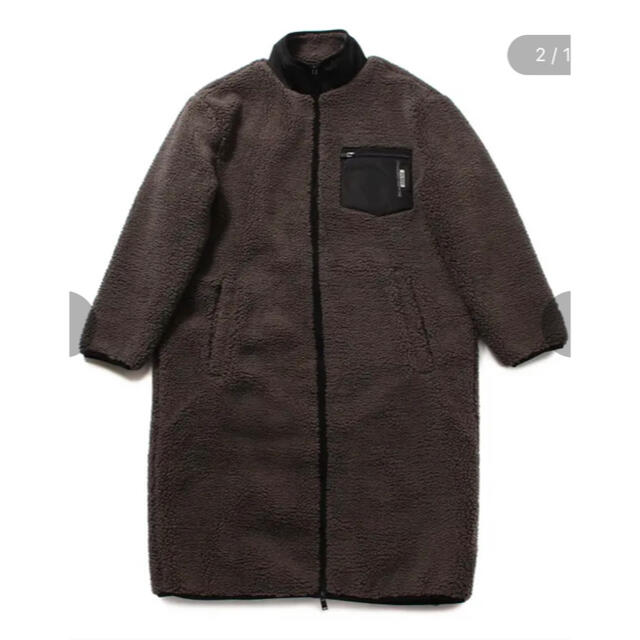 GUESS(ゲス)のゲス ボア ロングジャケット メンズのジャケット/アウター(ブルゾン)の商品写真