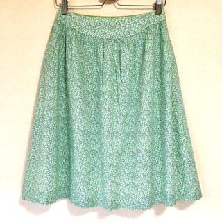 アマカ(AMACA)のCORNICE コルニーチェ フレアスカート 三陽商会 38 美品(ひざ丈スカート)