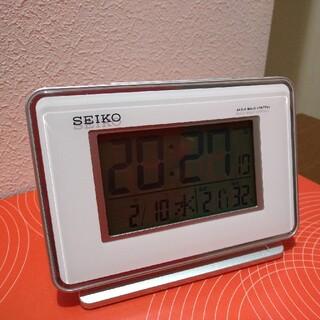 セイコー(SEIKO)のセイコーめざまし時計   電波クロック(置時計)