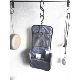 ムジルシリョウヒン(MUJI (無印良品))の無印良品 MUJI 旅行 ポーチ ポリエステル吊して使える洗面用具ケース(旅行用品)