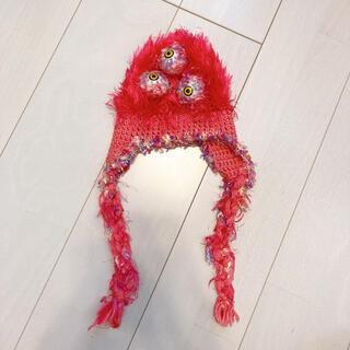 Santa Monica - クリクリ目玉 編み編みニット帽