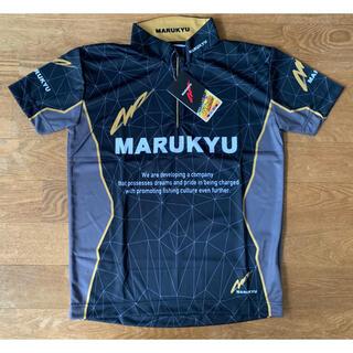 新品 マルキュージップアップシャツ02 ブラック(ウエア)