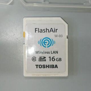 トウシバ(東芝)の東芝 Flash Air 16GB W-03(その他)