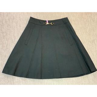 ルビーリベット(Rubyrivet)の【Rubyrivet】 フレアースカート M 黒(ひざ丈スカート)