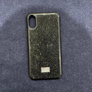 スワロフスキー(SWAROVSKI)のSWAROVSKI iPhone X/XS ケース スワロフスキー(iPhoneケース)